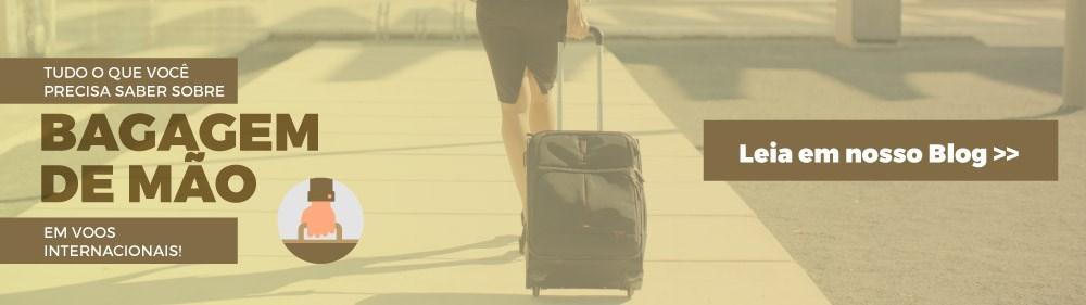 Tudo o que você precisa saber sobre bagagem de mão em voos internacionais!