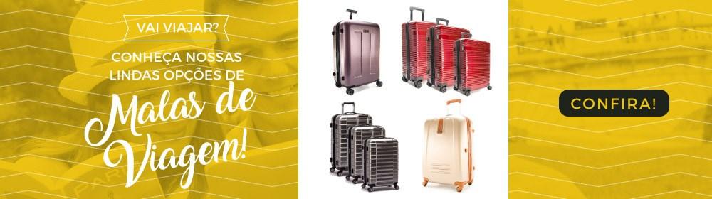 Vai viajar? Conheça nossas opções de Malas de Viagem!
