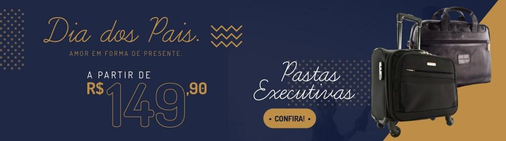 Dia dos Pais Cavezzale. Pastas executivas a partir de R$ 149.