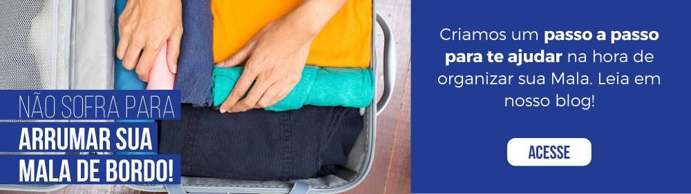 Veja como arrumar sua mala de bordo para caber tudo!