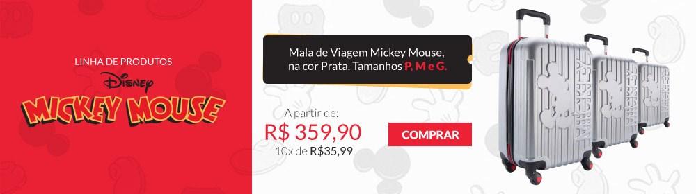 Malas de Viagem Mickey Mouse