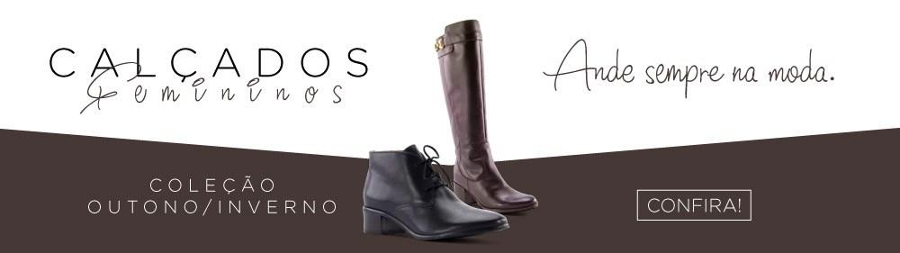 Calçados femininos outono/inverno. Confira!