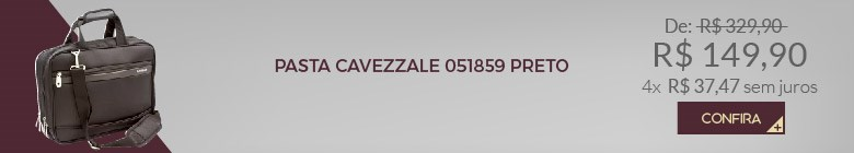 PASTA CAVEZZALE 051859 PRETO