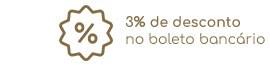 3% desconto