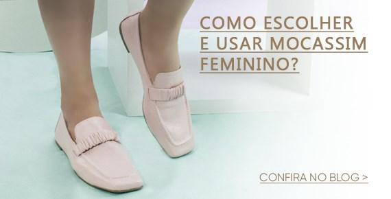 Como escolher e usar mocassim feminino?