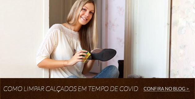 Como limpar calçados em tempo de COVID?