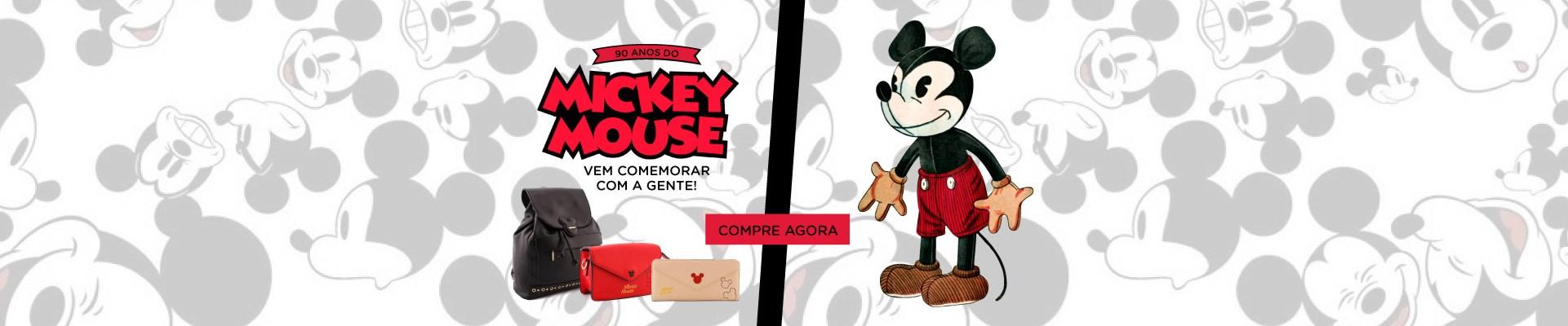 90 anos do Mickey. Venha comemorar com a gente. Confira nossos produtos!