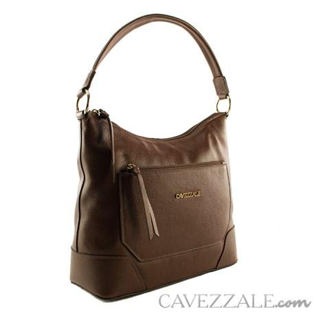 Bolsa Boho de Couro Feminina Cavezzale Castor 101482