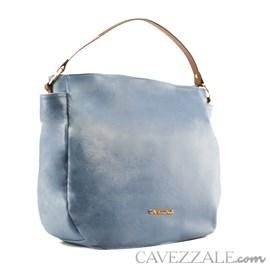 Bolsa Boho de Couro Feminina Cavezzale Floter Blue 102635