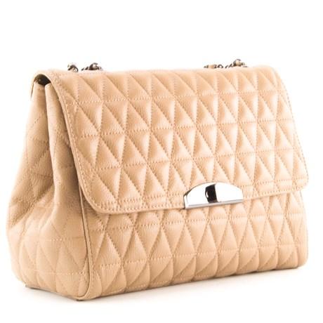 Bolsa Bowing de Couro Feminina Cavezzale Taupe 099313