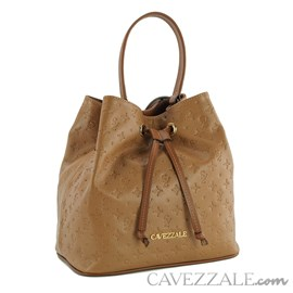 Bolsa Bucket de Couro Feminina Cavezzale Arabica 102145