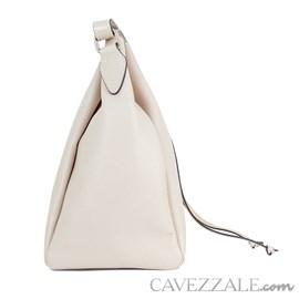 Bolsa Bucket de Couro Feminina Cavezzale Nude 099977