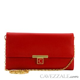 Bolsa Clutch Cavezzale Vermelho 101250
