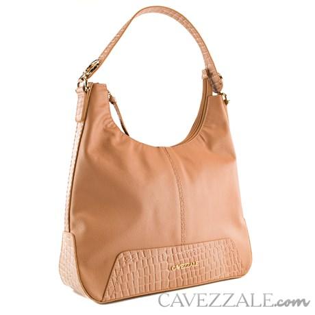 Bolsa de Couro Croco Feminina Cavezzale Terracota 101975
