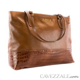 Bolsa de Couro Croco Feminina Cavezzale Whisk 101570