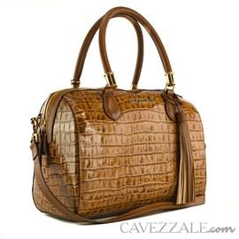 Bolsa de Couro Feminina Cavezzale Amazon Linhaça 102005