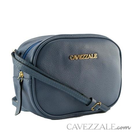 Bolsa de Couro Feminina Cavezzale Blue 102006