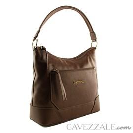 Bolsa de Couro Feminina Cavezzale Castor 101482