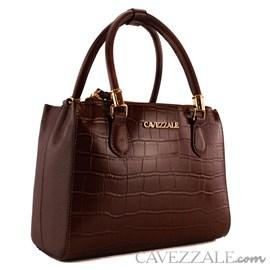 Bolsa de Couro Feminina Cavezzale Castor 101621