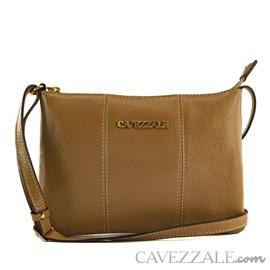 Bolsa de Couro Feminina Cavezzale Floter Taupe 102007