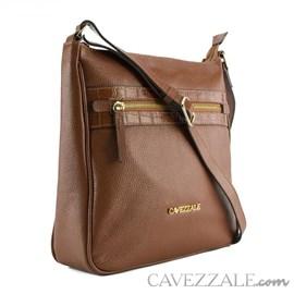Bolsa de Couro Feminina Cavezzale Floter/Verniz Castor 102354