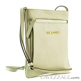Bolsa de Couro Feminina Cavezzale Gelo 0100973
