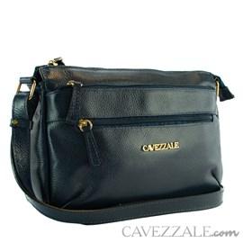 Bolsa de Couro Feminina Cavezzale Marinho 0101770