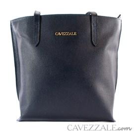 Bolsa de Couro Feminina Cavezzale Marinho 101571