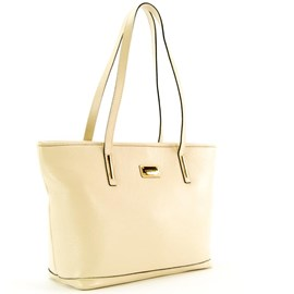 Bolsa De Couro Feminina Cavezzale Off White 098046