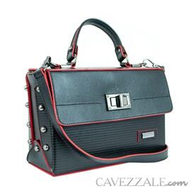Bolsa de Couro Feminina Cavezzale Preto 0100724