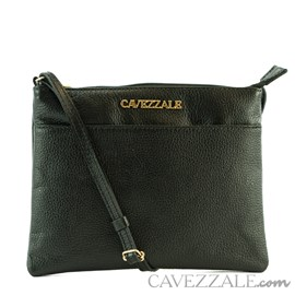Bolsa de Couro Feminina Cavezzale Preto 0100970