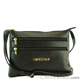 Bolsa de Couro Feminina Cavezzale Preto 0100971