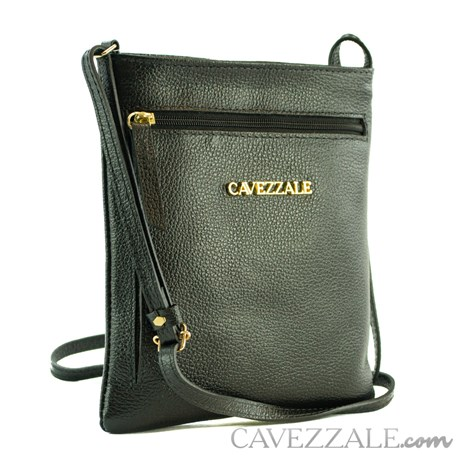 Bolsa de Couro Feminina Cavezzale Preto 0100973