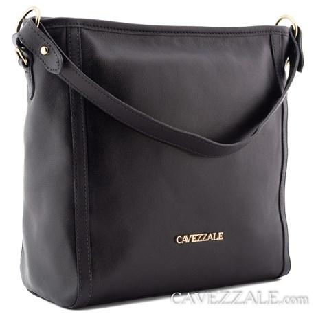 Bolsa de Couro Feminina Cavezzale Preto 0101417