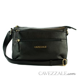 Bolsa de Couro Feminina Cavezzale Preto 0101770