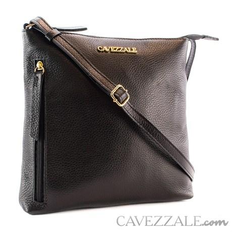Bolsa de Couro Feminina Cavezzale Preto 101569