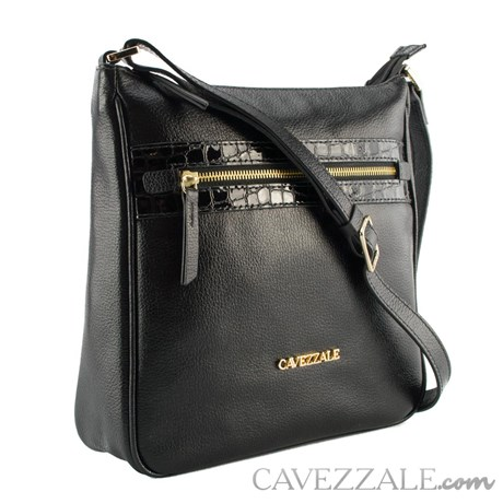Bolsa de Couro Feminina Cavezzale Preto 102354
