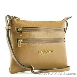 Bolsa de Couro Feminina Cavezzale Taupe 0100971