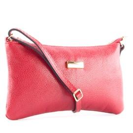Bolsa De Couro Feminina Cavezzale Vermelho 099450