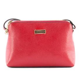 Bolsa De Couro Feminina Cavezzale Vermelho 099454