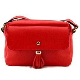 Bolsa De Couro Feminina Cavezzale Vermelho 099585