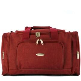 Bolsa de Viagem Pequena Cavezzale Vermelho em Poliéster Torino II 099971