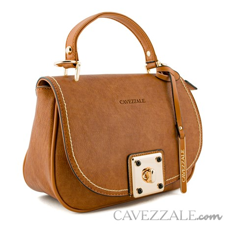 Bolsa Feminina Cavezzale Marrom 0100291