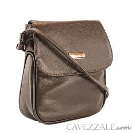 Bolsa Feminina Couro Cavezzale Café 019694