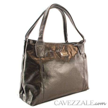 Bolsa Feminina Couro Cavezzale Preto 053651