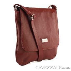 Bolsa Feminina Couro Cavezzale Vermelho 018169
