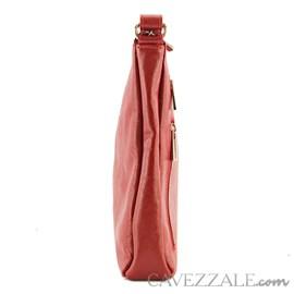 Bolsa Feminina Couro Cavezzale Vermelho 018170