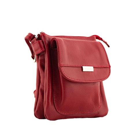 Bolsa Feminina Couro Cavezzale Vermelho 019693