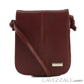 Bolsa Feminina Couro Cavezzale Vermelho 019695