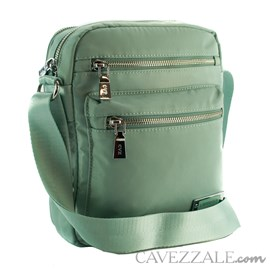 Bolsa Feminina de Nylon Cavezzale Verde 101297